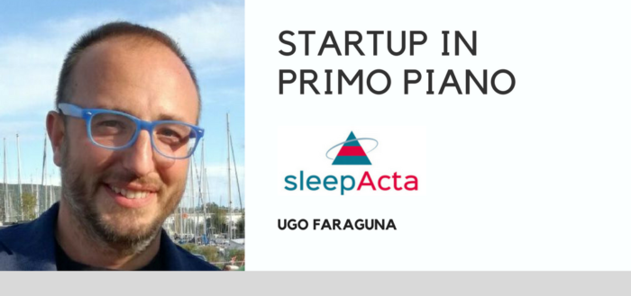 sleepacta_startup in primo piano