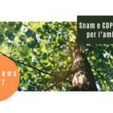 Snam e CDP insieme per l'ambiente