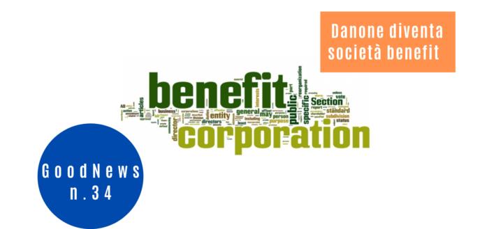 Danone diventa società benefit