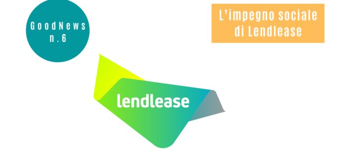 L'impegno sociale di Lendlease