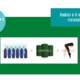 Radici e il collant riciclato